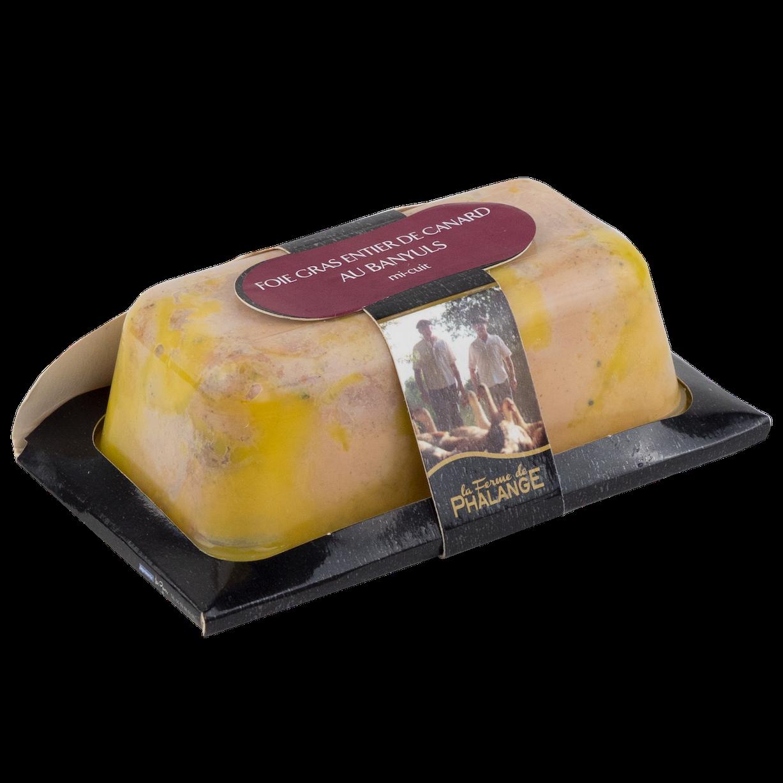 foie gras mi-cuit Banyuls